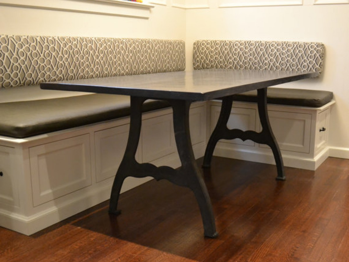 ShopOnMaincom - Dark wood farm table